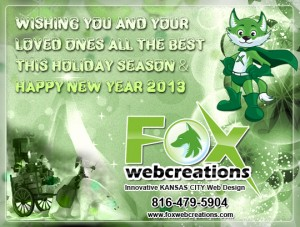 Happy Holidays from Fox Web Creations