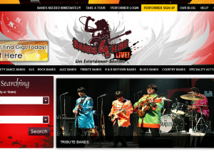 Bands For Hire Live Music Bands Wedding Bands Cover Musicians Wedding Musicians Entertainment in your city 2014 02 13 15 42 361 300x214 Web Design Portfolio
