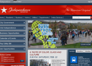 City of Independence Missouri An American Original 2014 02 13 15 48 591 300x214 Web Design Portfolio
