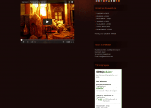 Dar Mimoun restaurant 1 300x214 Web Design Portfolio