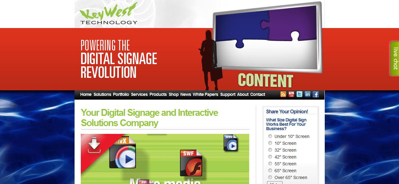 Digital Signage - Digital Signage Software - KeyWest Technology - Digital Signs - 2014-02-14 13-00-54