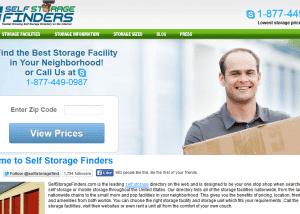 Find Local Self Storage Facilities Self Storage Finders 2014 02 14 13 06 051 300x214 Web Design Portfolio