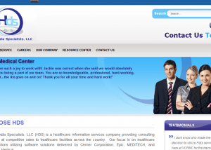 Health Data Specialists Your Healthcare Information Technology Partner1 300x214 Web Design Portfolio