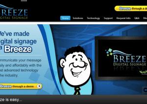 Home Breeze Digital SignageBreeze Digital Signage 2014 02 13 13 19 391 300x214 Web Design Portfolio