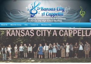 Kansas City A Cappella 2014 02 14 13 41 451 300x214 Web Design Portfolio
