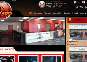Kansas City Electronic cigarettes E Liquid Kansas City Vapes 2014 02 13 14 56 191 300x214 Web Design Portfolio