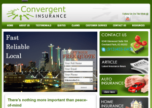 Kansas City Insurance Health Insurance Auto Insurance Home Insurance Business Insurance Quotes Convergent Insurance 2014 02 14 14 07 301 300x214 Web Design Portfolio
