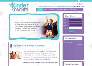 KinderKoaches1 300x214 Web Design Portfolio