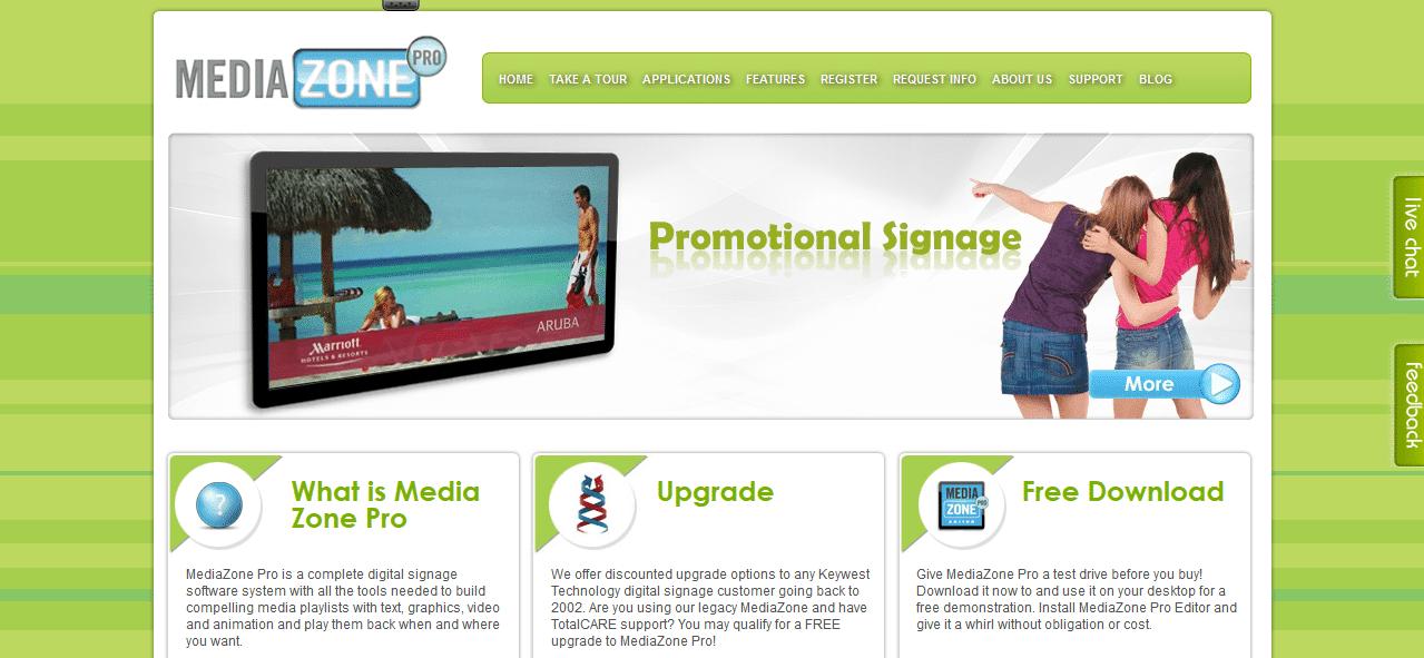 Media Zone Pro - MediaZone Pro Digital Signage Software 2014-02-14 12-37-58