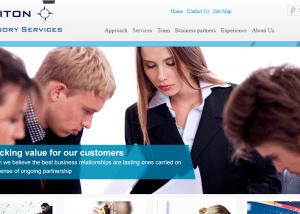 Triadserv Investment banking strategic consulting firm 2014 02 13 14 44 501 300x214 Web Design Portfolio