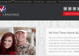 VA Loan Lending Helping Veterans get Approved for Low Rate VA loans 2014 02 14 14 33 461 300x214 Web Design Portfolio