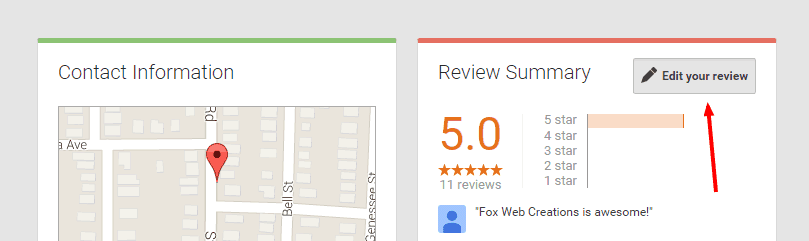 Fox Web Creations   Google 6