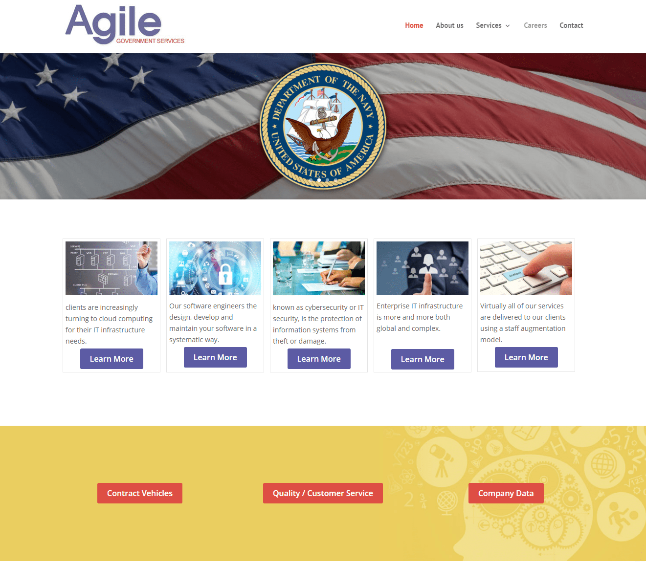 Agile Government Services Screenshot