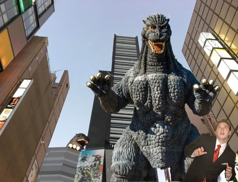 Here's How Your Business Can Survive An Attack By Godzilla